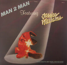 "MAN 2 MAN ft JESSICA WILLIAMS These Boots Are Made For Walking 12"" PS MEXICAN"