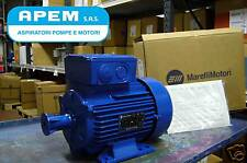 MOTORE ELETTRICO TRIFASE MARELLI 7,5HP 5,5 KW 4P B3 NEW 1400 GIRI MADE IN ITALY