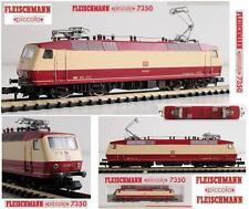 FLEISCHMANN 7350 VINTAGE LOCOMOTORA ELÉCTRICO BR120 002-1 DB LUCES y OVP