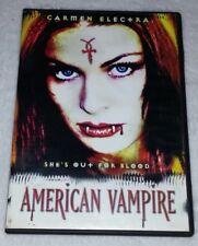 American Vampire Slim Case  by Digiview Production *RARE opp *HORROR *HALLOWEEN