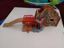 Thomas The Train Wooden Track Railway Talking Morgan's Mine Station
