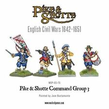 Warlord Pike & Shotte - Command Group 3 (4) 28mm ECW TYW