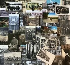 Lot / Konvolut 50 Fotos  AK Feldpostkarten Kriegsschauplatz Soldaten Front  1.WK