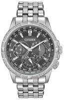 Citizen Eco-Drive Men's Calendrier Diamonds Chronograph 44mm Watch BU2080-51H
