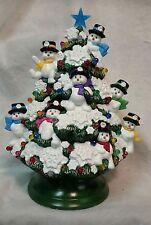 New snowman Christmas Tree  Vintage  Mold ..New  USA..