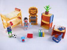 PLAYMOBIL 4287 CHILDREN'S ROOM LION BASKETS SLEEPING BAG BALL BARBELL-COLLECTOR!