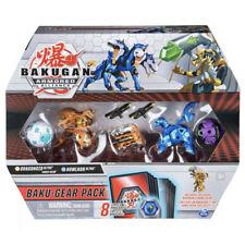 Bakugan Ultra Armored Alliance, Aurelus Dragonoid with Baku-Gear Pack, 4-Pack