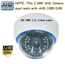 """Sunvision 2.0Mp Ahd 1080p 1/3"""" Sony 30Ir 3Mp 2.8-12mm Lens Indoor Camera (A110)"""
