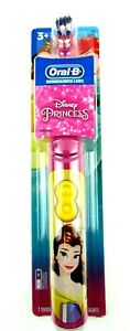 Oral-B Disney Princess Soft Power Toothbrush for Kids Aged 3 and Up Sealed