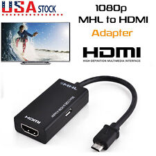 MHL Micro USB to HDMI Adapter Cable HD 1080P for Android Phone Tablet TV