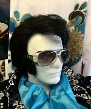 ELVIS WIG WITH SIDEBURNS- ETA Tribute Hair Memphis