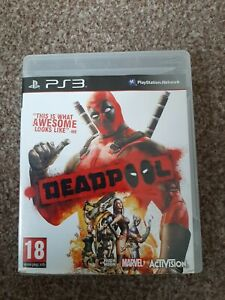 Deadpool PS3 Playstation 3 Game - PAL/UK