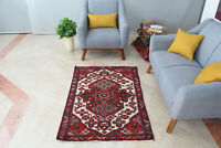 3x5 Oriental Vintage Hand Knotted Traditional Geometric Classic Wool Area Rug