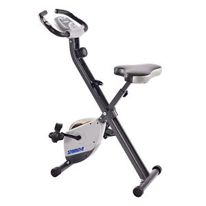 Stamina Cardio Exercise Bike with Heart Rate Sensors and Extra Wide Padded Seat
