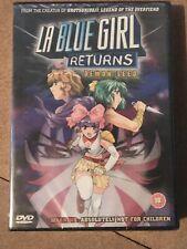 La Blue Girl Returns, Shikima Lust DVD (18)  Unopened