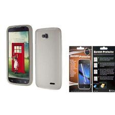 Étuis, housses et coques avec clip gris pour téléphone mobile et assistant personnel (PDA) LG