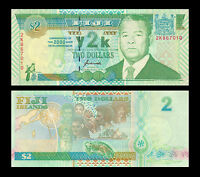 Fiji 2 Dollars, 2000, P-102, COMM., Banknote, UNC