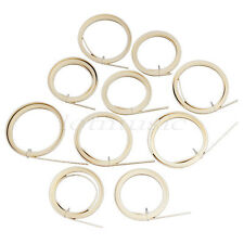 10 Pcs Ivory ABS Guitar Binding Purfling Body Project 1650 x 6 x 1.5mm