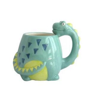 New Dinosaur/Dragon Shaped 3D Mug Cup Tea/Coffee Hand Painted Novelty Cute Gift