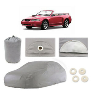CAR COVER ☑️ Premium ☑️ Waterproof ✔HIGH✔QUALITY FORD MUSTANG CUSTOM-FIT