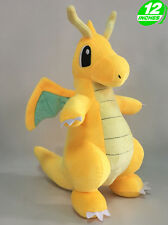 Big 12'' Pokemon Dragonite カイリュー Kairyuu Plush Anime Stuffed Toy Game PNPL9319