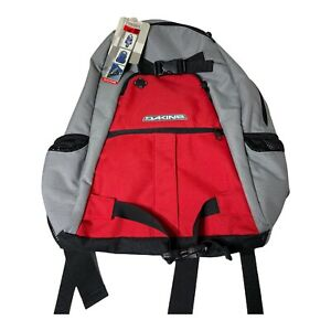 Dakine Explorer 27L Backpack Skate Carry Red Gray New With Tags