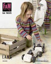 FAM 241 Strickheft Handarbeitsheft von Lang Yarns Fatto a Mano Elle Tricote