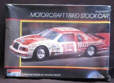 VTG (1986) RICKY RUDD'S MOTORCRAFT T-BIRD STOCK CAR 1:24 MONOGRAM SEALED
