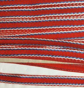 15mm COTTON BRAID TRIM STITCHED DETAIL SEWING choice Colour & Length