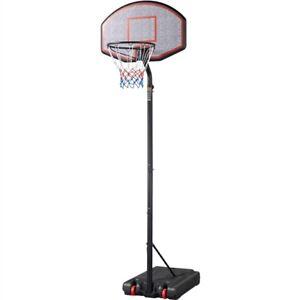 Basketballständer Outdoor Basketballkorb mit Rollen Verstellbar Basketballanlage
