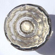 Grande / Xl Transparente Cristal De Cristal Tallado armario & Alacena Tiradores Perillas De Puerta 56 Mm