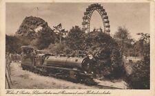 AK Wien, Prater, Liliputbahn mit Riesenrad, (N)1884
