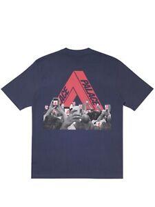 Brand New Palace Tri-Phone T-shirt Navy Size Medium FREE US SHIPPING