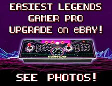 atGames Legends Gamer Pro Easiest Upgrade on ebay [See Photos] 1,479 Arcade Game