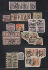 CHINA STAMP ON PAPER USED (b)