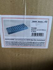 LGB 61000 / TrainTrack 61000   Roadbed Straight 12 Pieces /  BRANDNEW