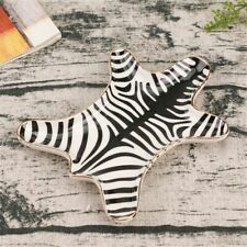 Decorative Ceramic Trays Nordic Tiger Zebra  tray Small Jewelry Rings Dish Plate