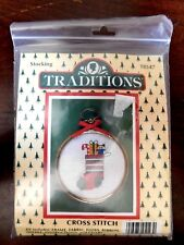 Traditions Counted Cross Stitch Kit Christmas Stocking #T8547