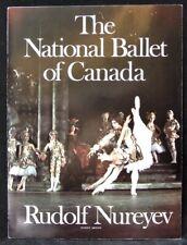 1972 THE NATIONAL BALLET OF CANADA SOUVENIR PROGRAM - Rudolf Nureyev