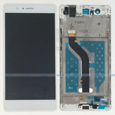 White Huawei P9 Lite VNS-L21 L22 L23 LCD Display Touch Digitizer Assembly+Frame