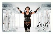 MILLA JOVOVICH AUTOGRAPHED SIGNED A4 PP POSTER PHOTO