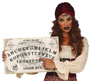 Wooden Ouija Board Halloween Decoration Spirit Hunt Hanging Prop Wall Art Ghost
