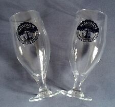 2 x New Symonds Founders Reserve Cider Challis Pint Glasses New