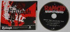 Rancid  Last One to Die  U.S. promo cd  -Rare!