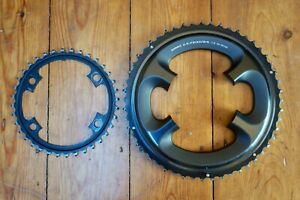 Shimano Ultegra FC-6800 52/36 chainrings set - good used cond (summer/dry only!)