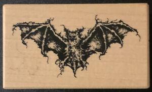 PSX E-1279 Halloween Bat Rubber Stamp