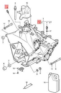 Genuine PORSCHE 911 996 997 Boxster Carrera Temperature Sensor 99660641000