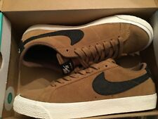 445e377d0426b7 Nike SB Zoom Blazer Low Mens Shoes Sz 10 Golden Beige  BLK Retail 864347 201