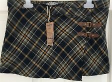 New with Tags - Girls PULL & BEAR SIZE Med Teens Tartan MINI SKIRT Kilt Style
