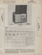 1947 GAROD 5D RADIO SERVICE MANUAL PHOTOFACT SCHEMATIC DIAGRAM REPAIR FIX